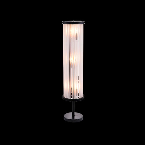 ROD TINY FLR LAMP-M.BLK